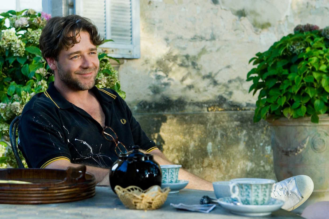 G-109 In Provence, Max Skinner (Russell Crowe) settles into an intoxicating new chapter in his life in A GOOD YEAR.